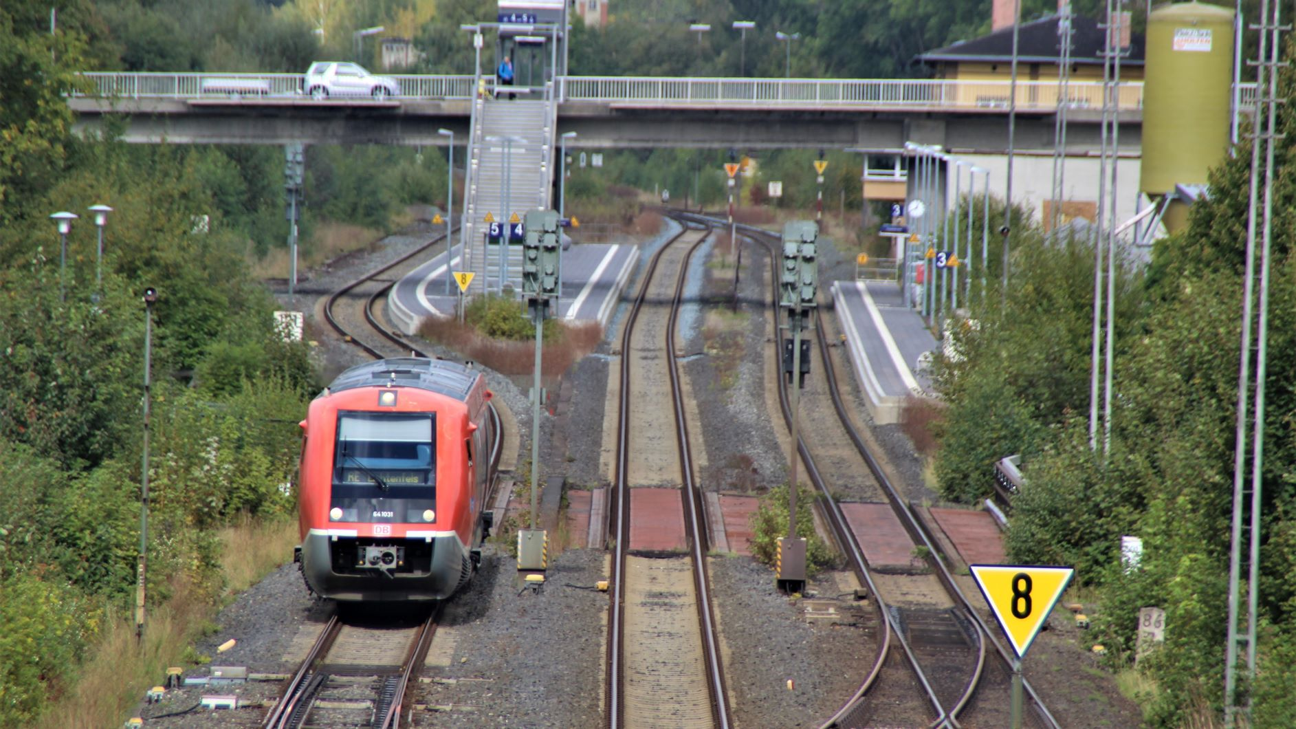 Oberkotzau Bahn Dialog